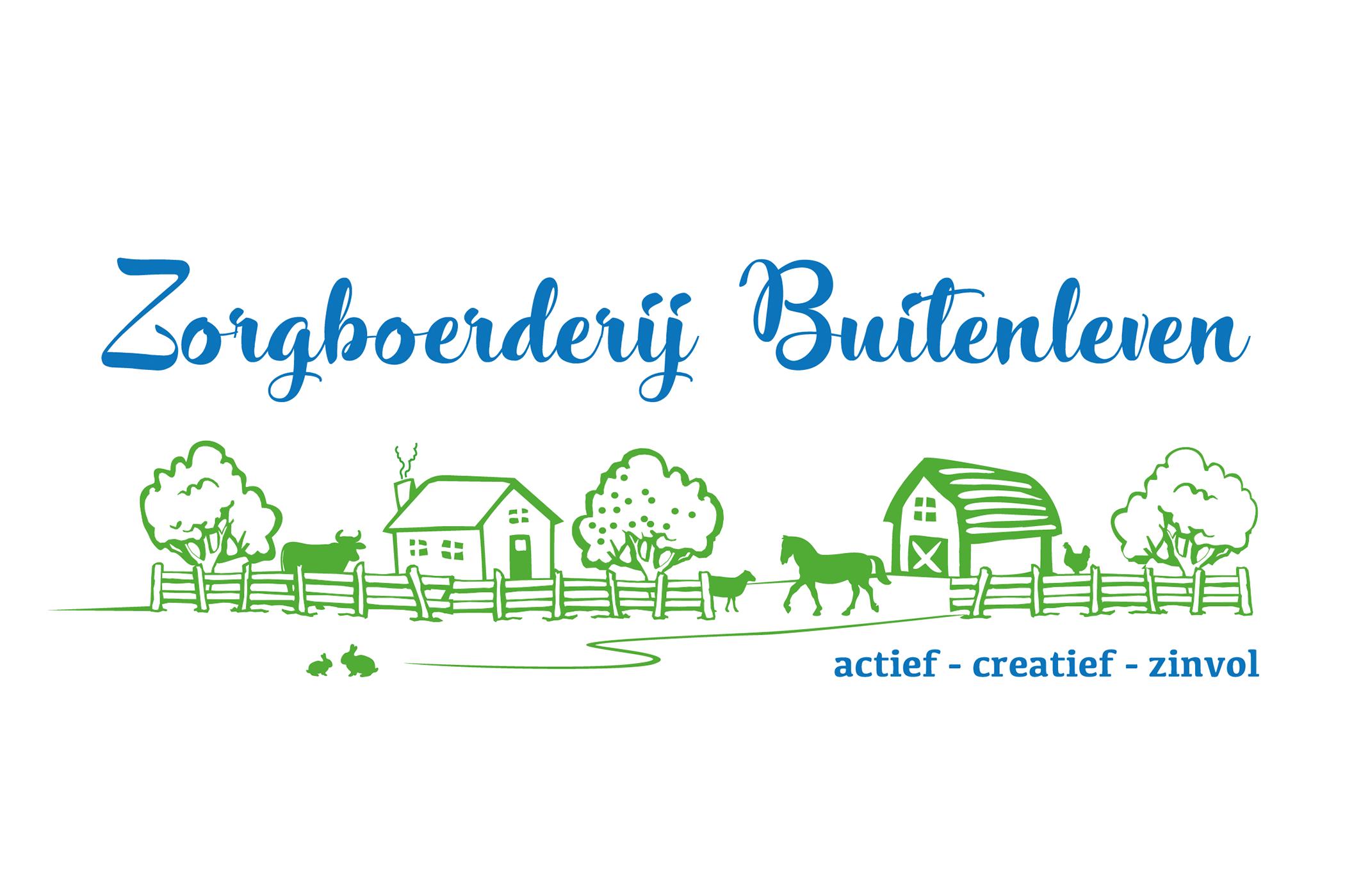 Logo_Zorgboerderij Buitenleven_met M erbij